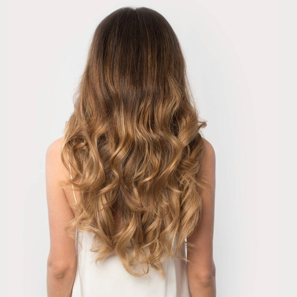 Luxy Hair Accessories Extensions 20 Full Set Ombre Blonde Poshmark
